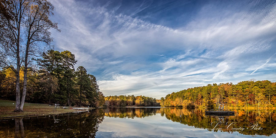 Lake View at Oconee State Park by Mike Covington