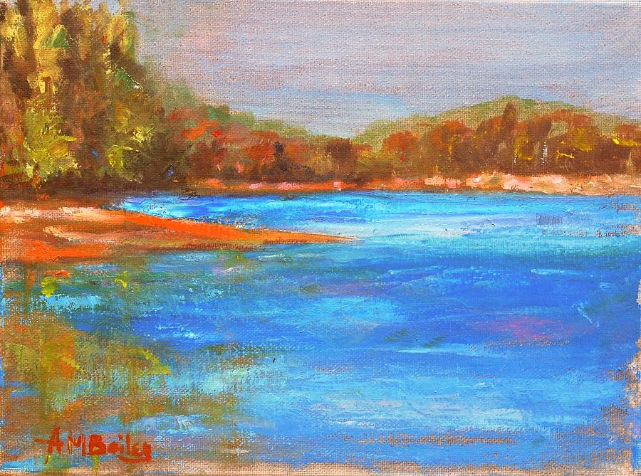 Lake View October by Ann Bailey