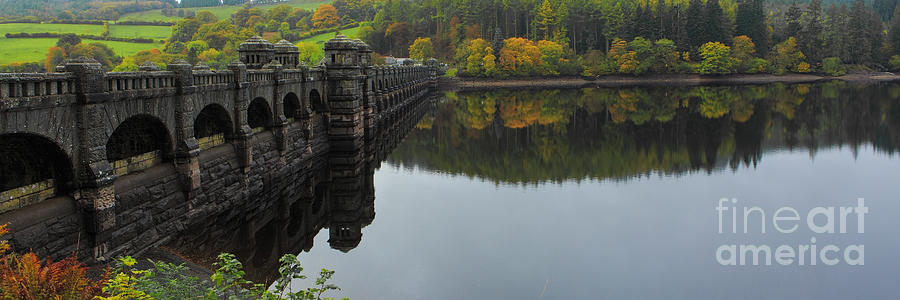 Lake Photograph - Lake Vyrnwy Dam by Pete Reynolds