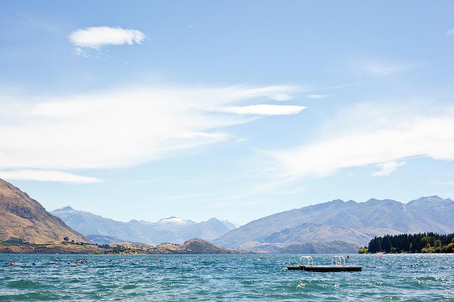 Lake Wanaka Diving Platform Photograph by Phillip Suddick
