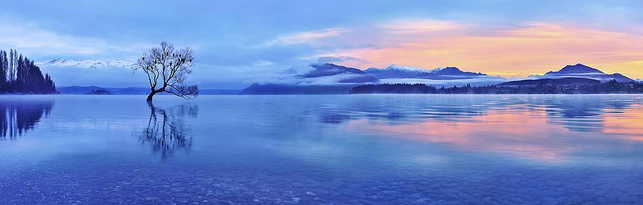 Wanaka Photograph - Lake Wanaka by Mei Xu