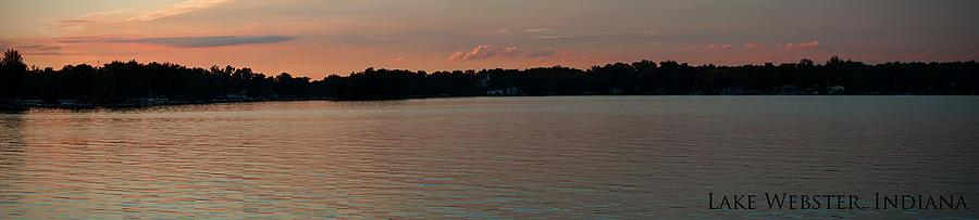 Lakes Photograph - Lake Webster Indiana by Thomas Fouch