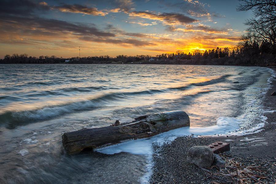 Lake Digital Art - Lake Yankton Minnesota by Aaron J Groen