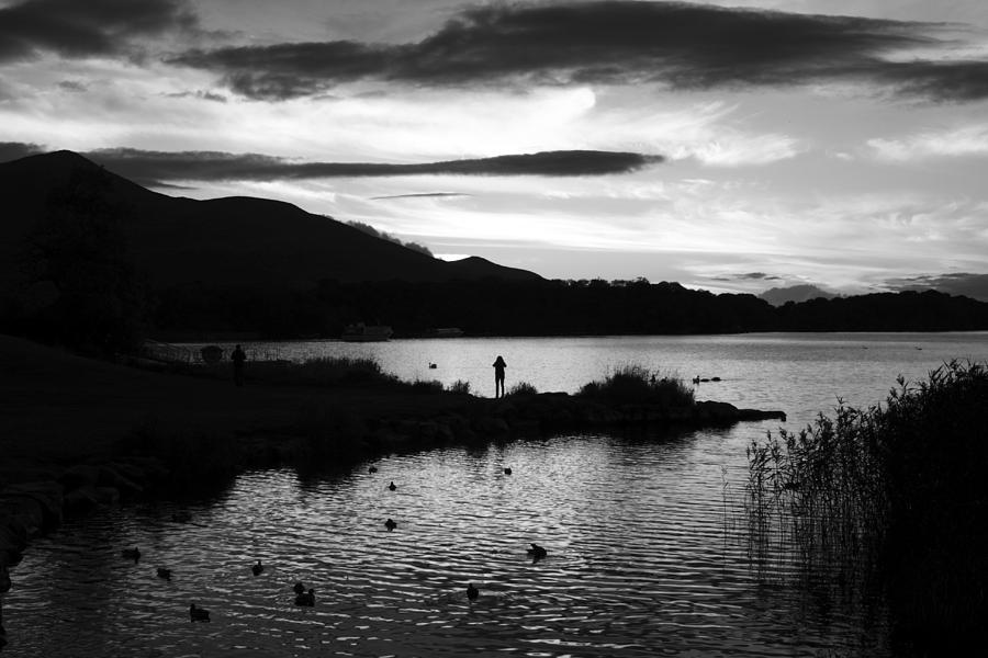 Landscape Photograph - Lakes Of Killarney View by Aidan Moran