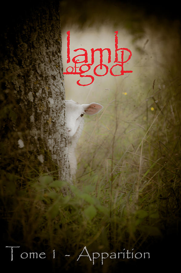 Loriental Photograph - Lamb Of God Book Cover by Loriental Photography