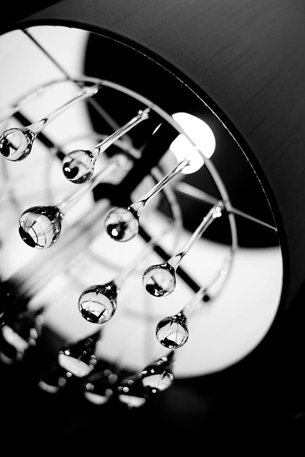 Lamp Photograph - Lamp Abstract by Rebecca Cozart