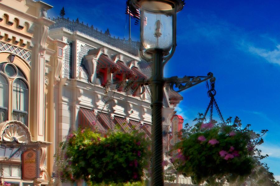 Mickey Photograph - Lamp Post by Ryan Crane