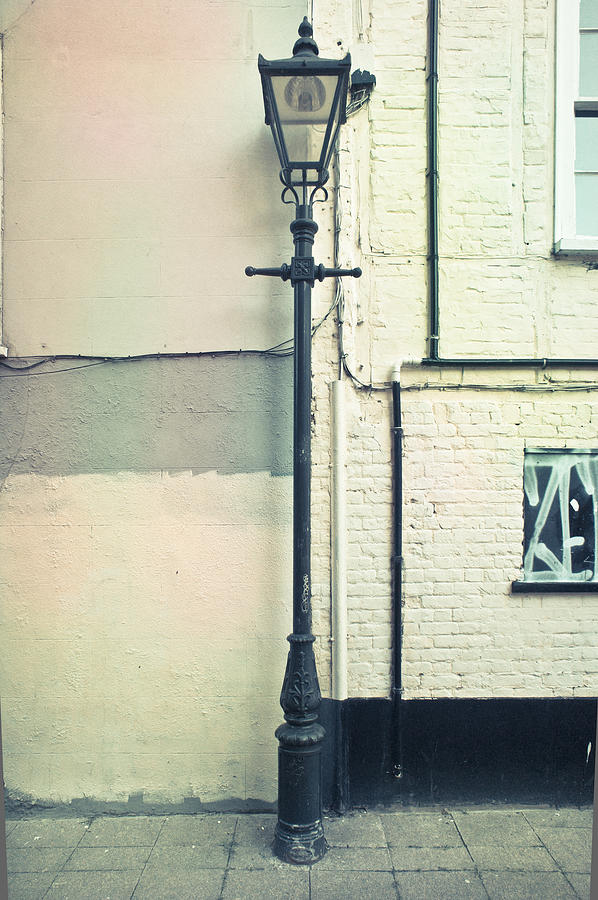 Architecture Photograph - Lamp Post by Tom Gowanlock