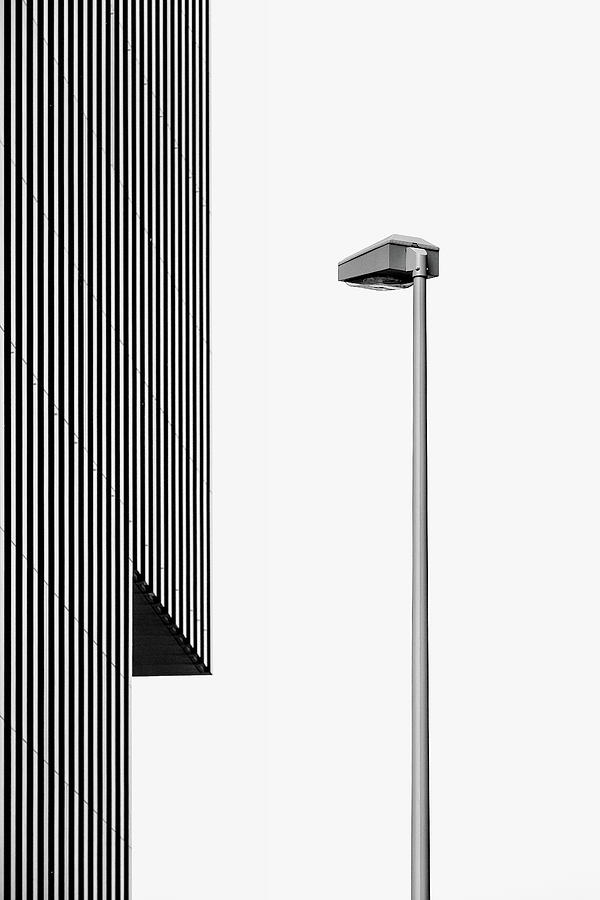 Architecture Photograph - Lampe Light by Rolf Endermann
