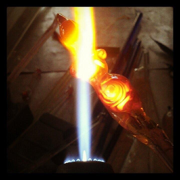 Hot Glass Jewelry - Lampwork Goddess by Deenie Wallace