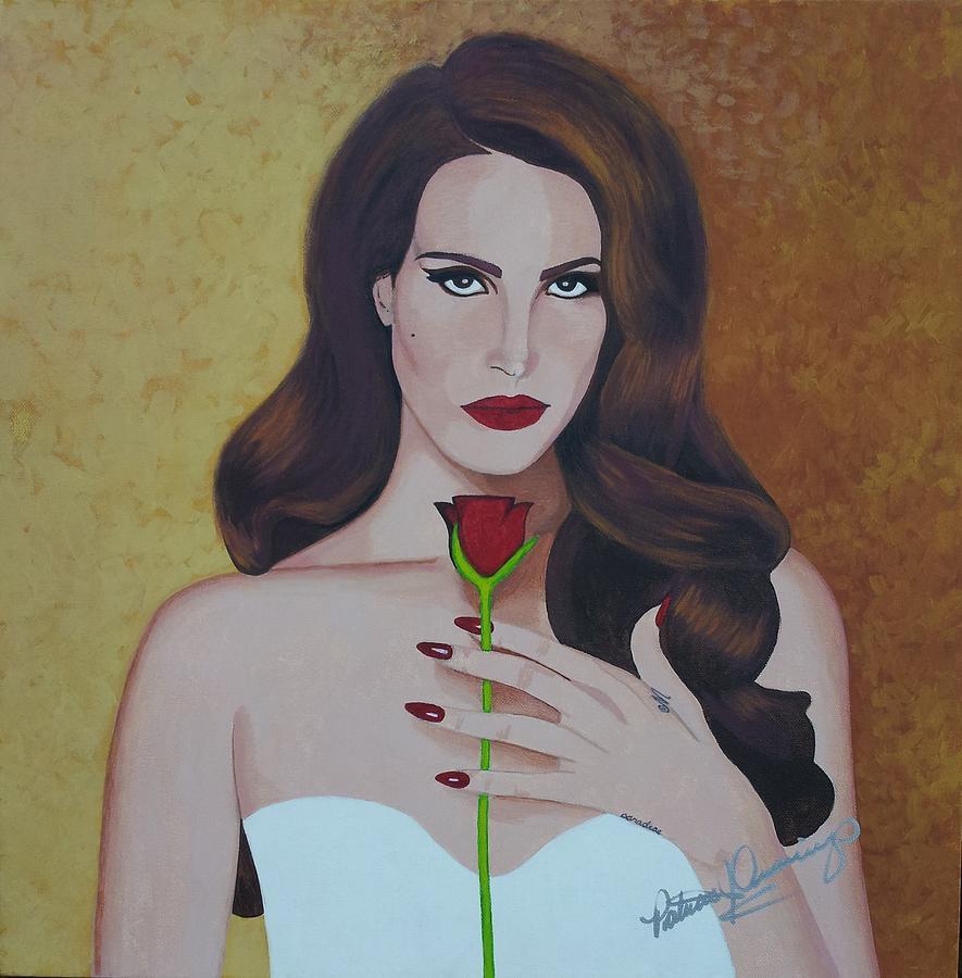 Lana Del Rey by Patricia Brewer-Cummings