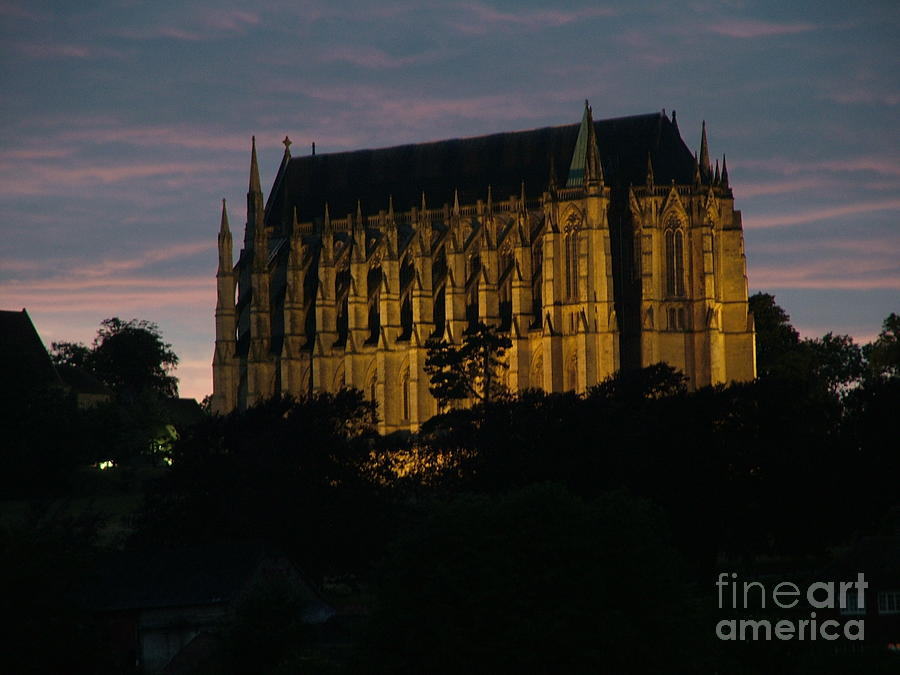 Gothic Photograph - Lancing College by Mark Bowden