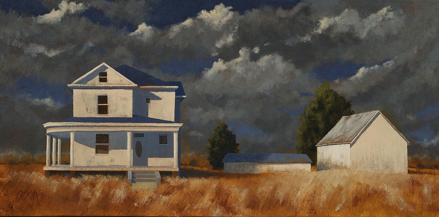 Landscape Painting - Land Mark by John Dean