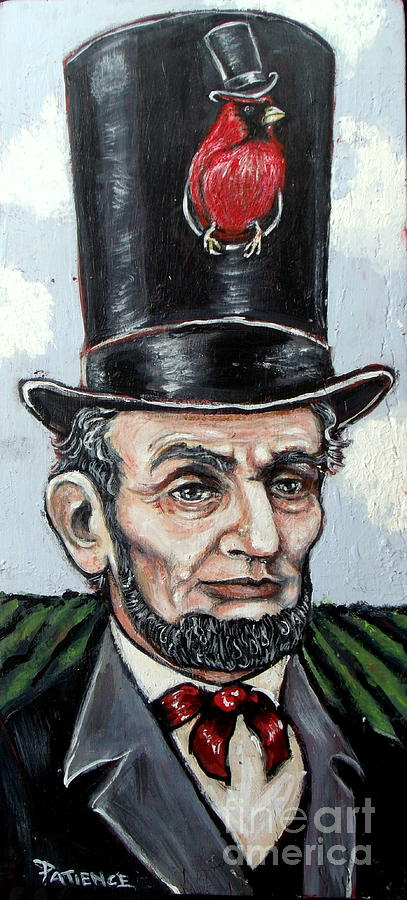 Abraham Painting - Land Of Lincoln by Patience A