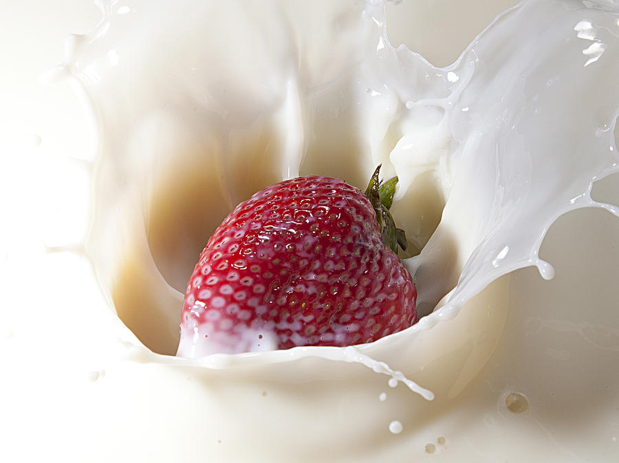 Fruit Photograph - Land Of Milk And Honey 10 by James Sage