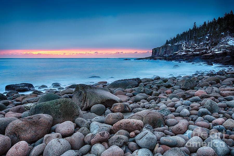 Acadia Photograph - Land Of Sunrise by Evelina Kremsdorf