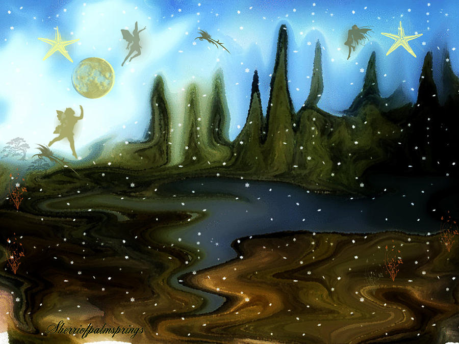 Land Of The Fairies For Kids Painting By Sherri S Of