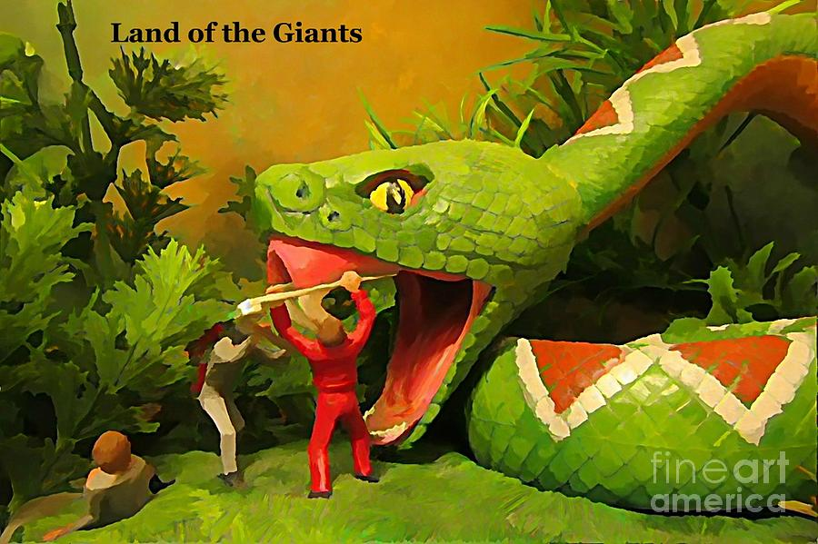 Land Of The Giants Photograph - Land Of The Giants by John Malone