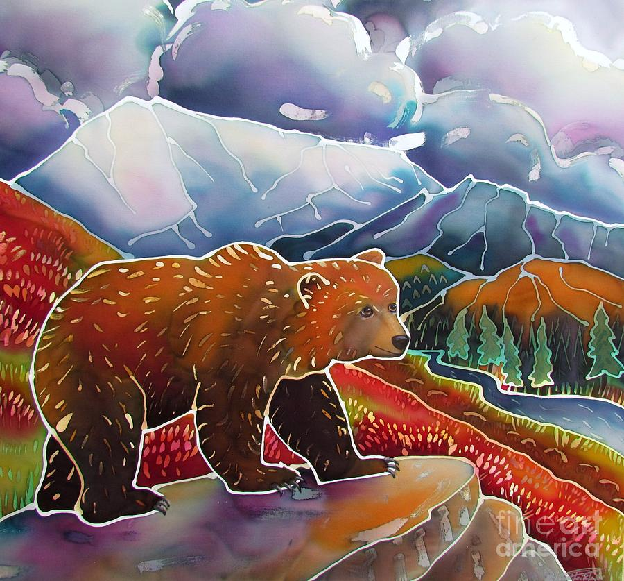 Bear Painting - Land Of The Great Bear by Harriet Peck Taylor