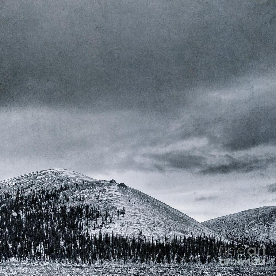 Mountain Photograph - Land Shapes 10 by Priska Wettstein
