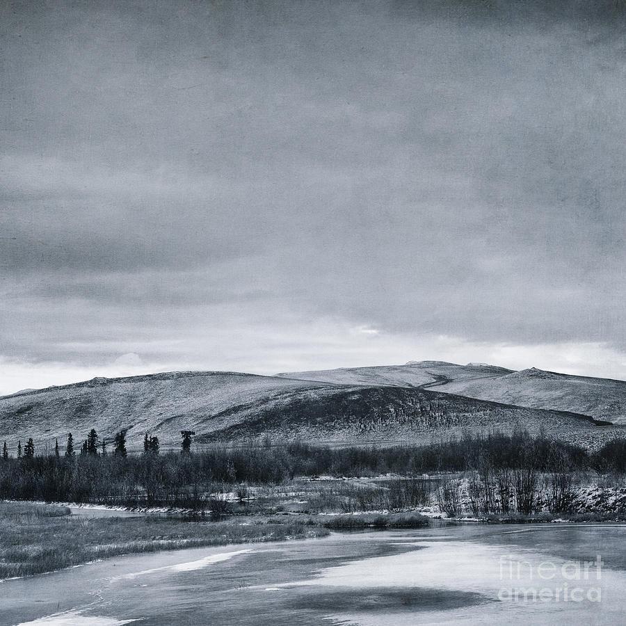 Mountain Photograph - Land Shapes 11 by Priska Wettstein