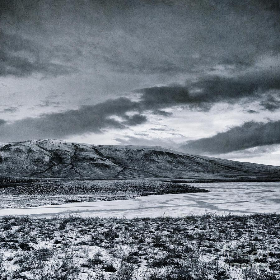 Mountain Photograph - Land Shapes 12 by Priska Wettstein