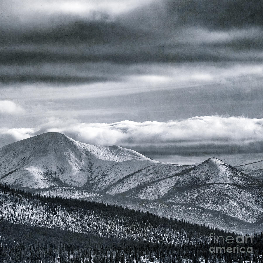 Taylor Highway Photograph - Land Shapes 4 by Priska Wettstein