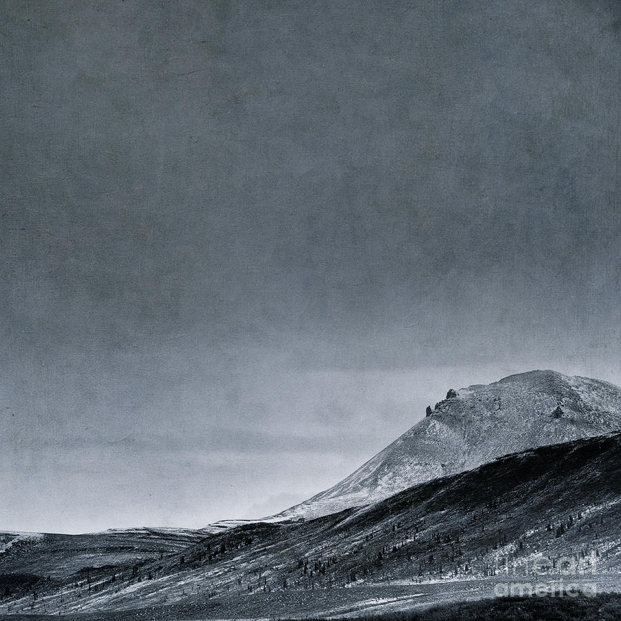 Mountain Photograph - Land Shapes 6 by Priska Wettstein