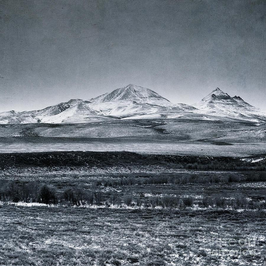 Mountain Photograph - Land Shapes 7 by Priska Wettstein