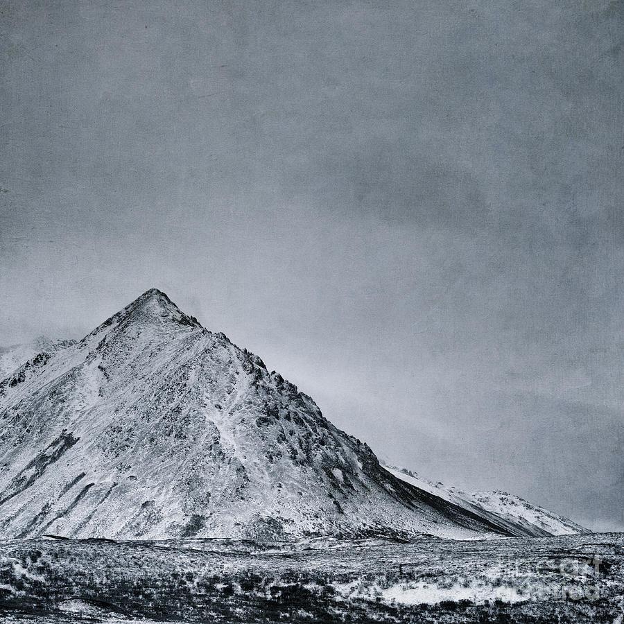 Mountain Photograph - Land Shapes 9 by Priska Wettstein