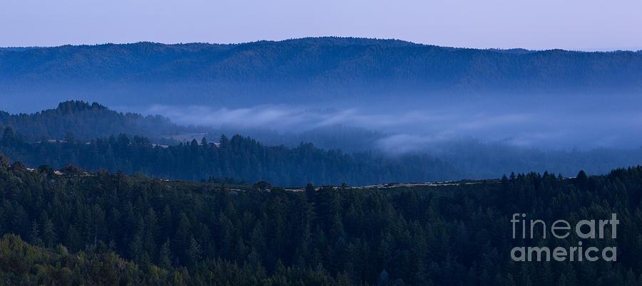 Russian Ridge Open Space Photograph - Land Spray In Russian Ridge by Matt Tilghman