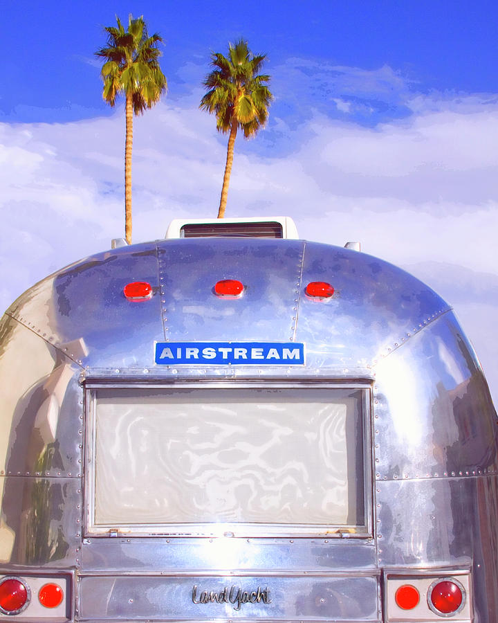 Airstream Photograph - Land Yacht Palm Springs by William Dey
