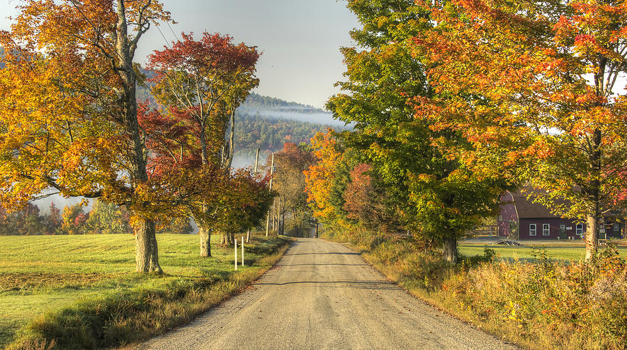 Landscape Photograph - Landaff Country Rd by Diana Nault
