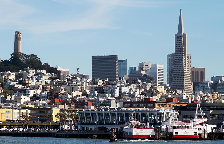 San Francisco Photograph - Landmarks by Bernard  Barcos