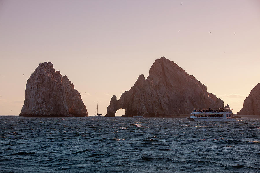 Lands End At Sunset Photograph by Holger Leue