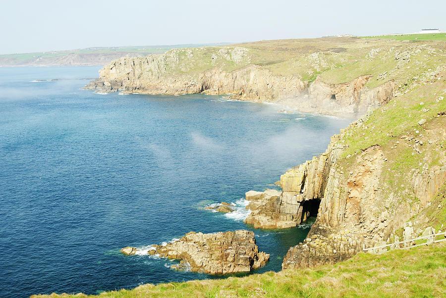 Lands End Coast, Cornwall, Uk Photograph by John Harper