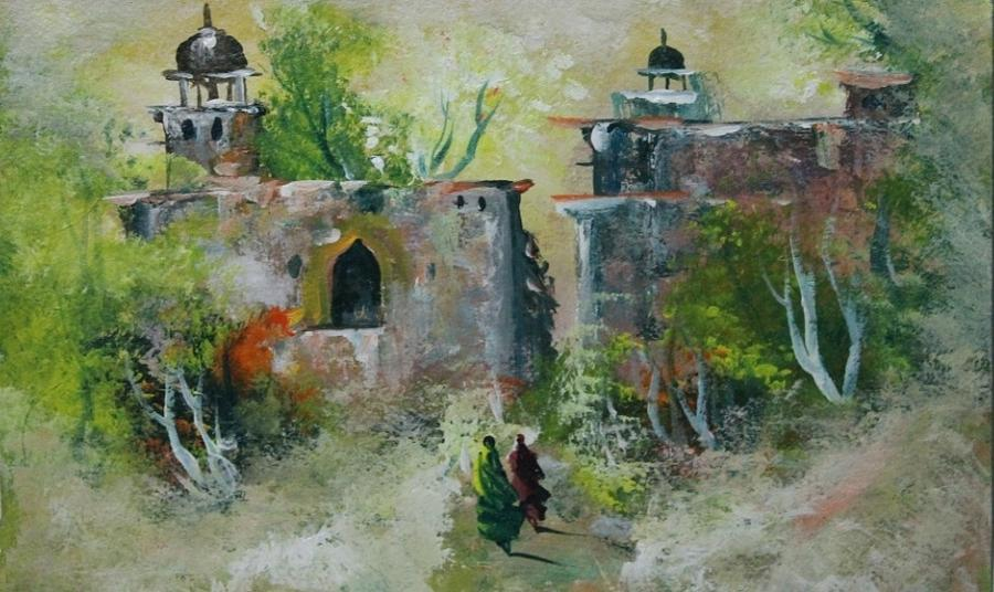 Paintings Painting - Landscape 0996 by Sir