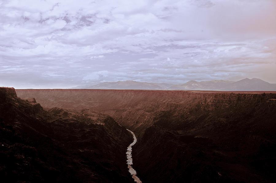 Rio Grande Gorge Photograph - Landscape 17 A Taos Nm by Otri Park