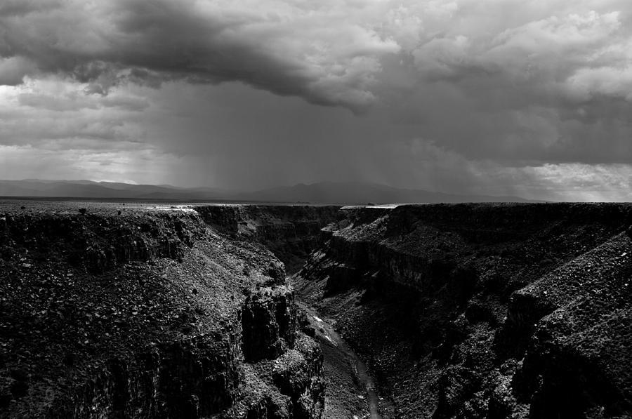 Rio Grande Gorge Photograph - Landscape 17 C Taos Nm by Otri Park