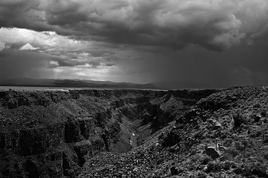 Rio Grande Gorge Photograph - Landscape 17 D Taos Nm by Otri Park