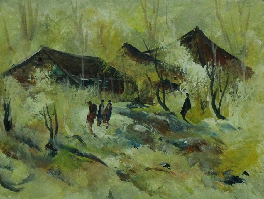Paintings Painting - Landscape 454 by Sir