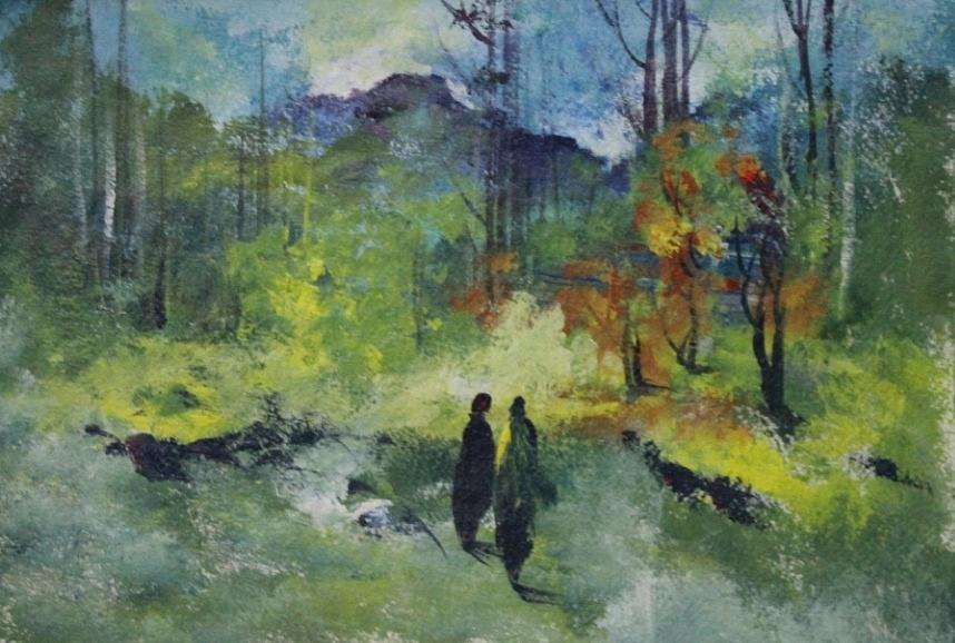 Paintings Painting - Landscape 4656 by Sir