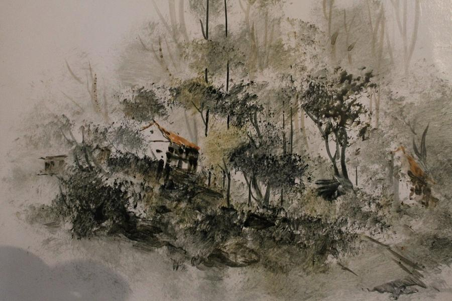 Paintings Painting - Landscape 545  by Sir