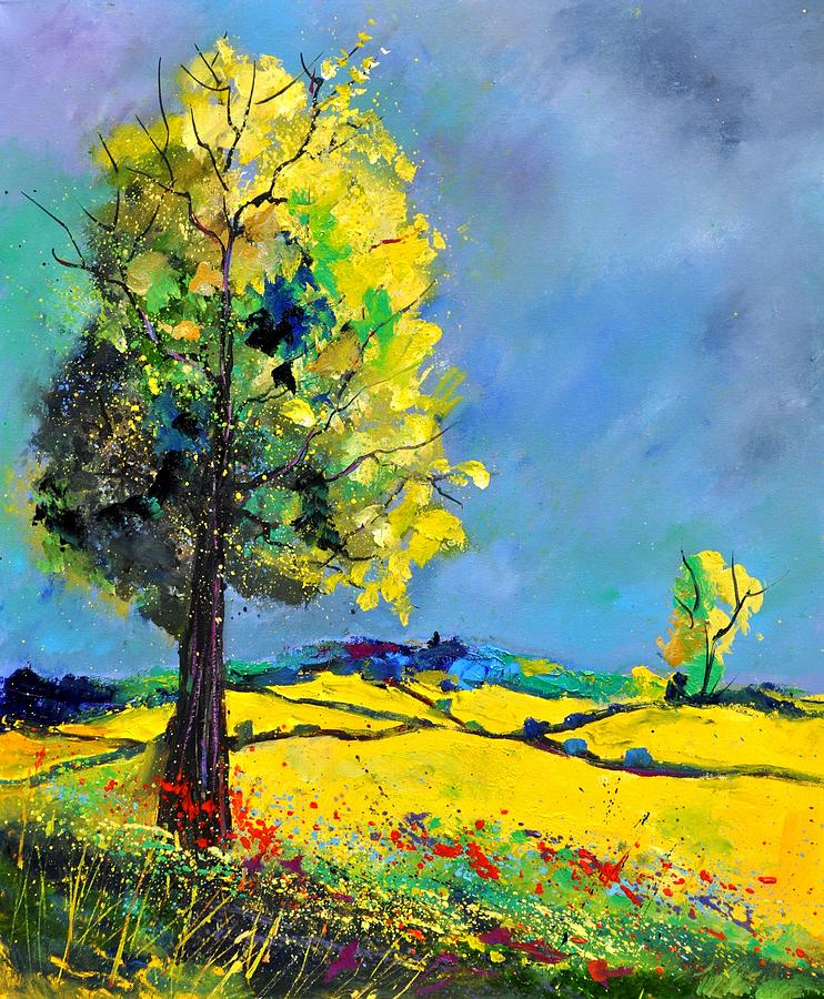 Landscape Painting - Landscape 563160 by Pol Ledent