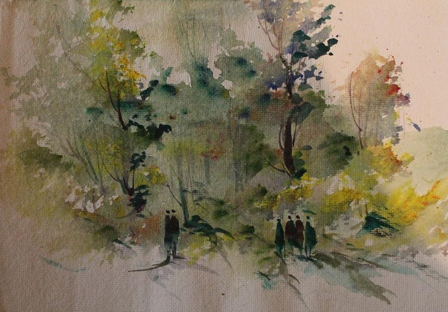 Paintings Painting - Landscape 8545 by Sir