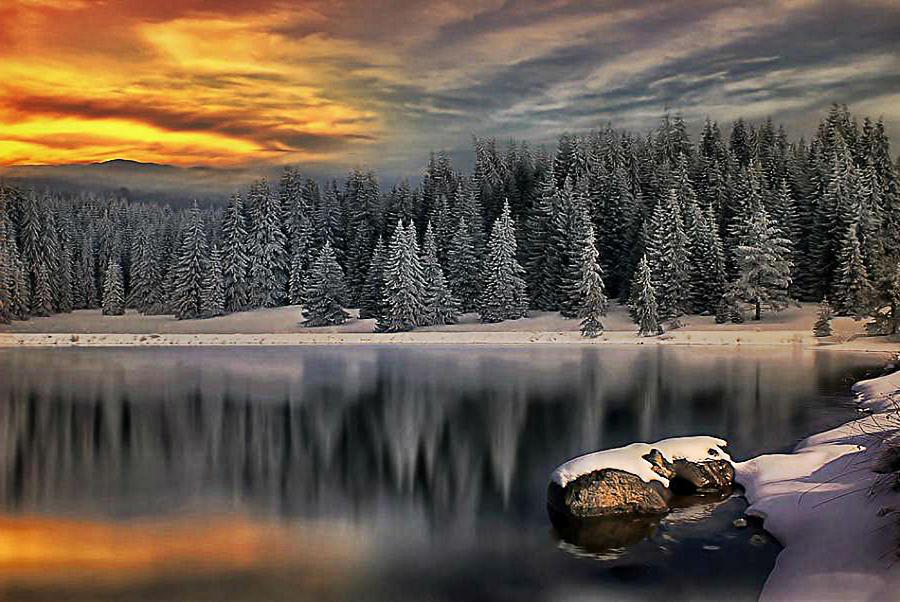 Landscape Photograph - Landscape Art by Digital Art Cafe