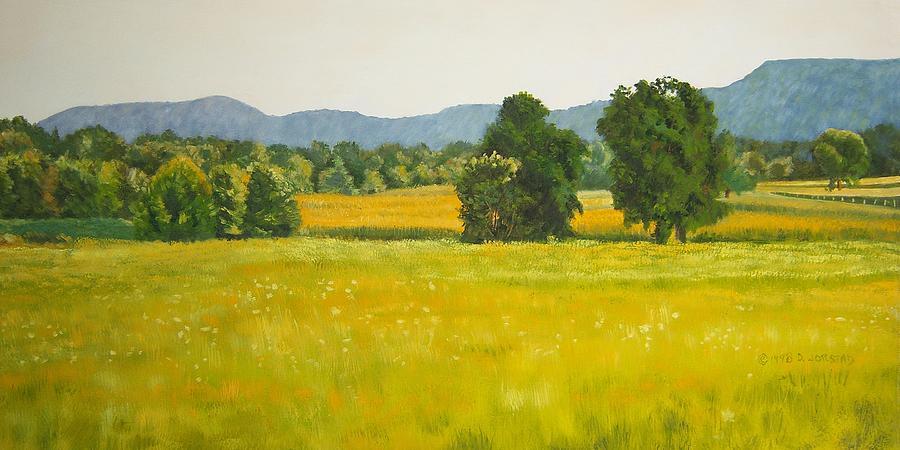 Hunger Games: The CC Culling Landscape-art-oil-painting-for-sale-fields-diane-jorstad