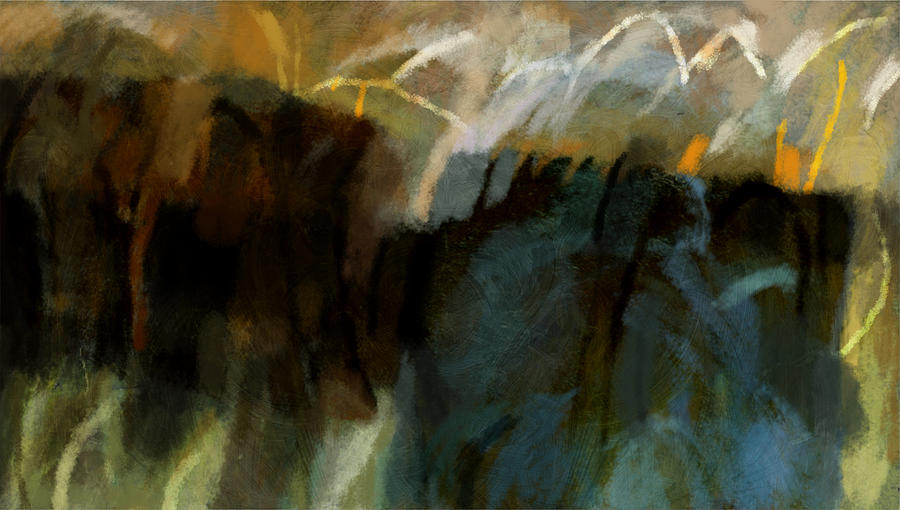 Painting Painting - Landscape Forms by Jeremy Norton