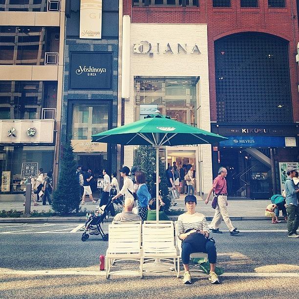 Landscape Photograph - #landscape  Ginza Saturday Afternoon by Tokyo Sanpopo