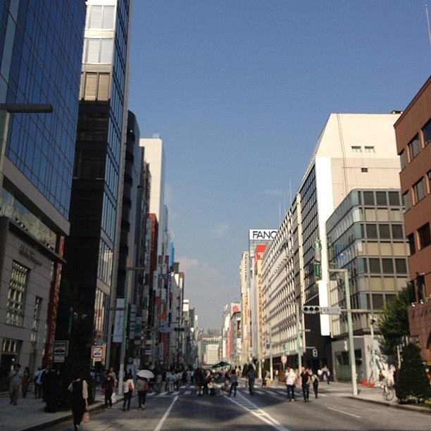 Landscape Photograph - #landscape Ginza by Tokyo Sanpopo